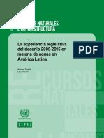 Embid y Martín_2015_La Experiencia Legislativa Del Decenio 2005-2015 en Materia de Aguas en América Latina