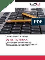 De Las TIC Al DCC -Carlos Obando Arroyave