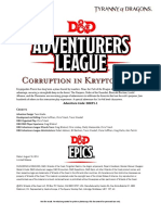 DDEP1 Corruption in Kryptgarden