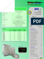 VOLTSTREAM - Thee Phase Indoor AC Voltage Optimisers 21 to 700 Amps