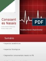 Consoantes Nasais1