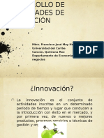 DESARROLLO DE HABILIDADES INNOVADORAS