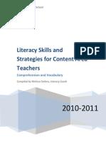 mhs literacy strategy book