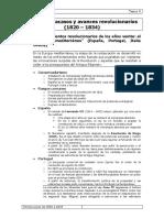 Tema 9 Desafíos, Fracasos y Avances Revolucionarios _1820 – 1834