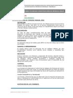 ESPECIFICACIONES TECNICAS - ESTRUCTURA