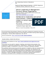 Collaborative leadership and school improvement.pdf