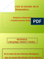 Sistematica Vegetal