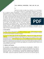 Proyecto de Desarrollo Agricola Industrial San Luis de Las Mercedes