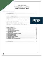 Personas Naturales 2015 - 1ra, 2da, 4ta y 5ta Categorías - Formulario Virtual 701