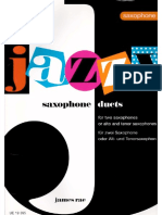 Jazzy Saxophone Duets - James Rae