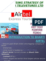Bharati Airtel-Marketing Research Paper Ppt