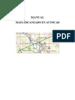 Manual de Autocad Escanear Mapa