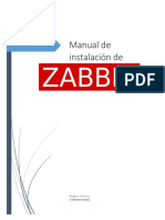 Manual Instalación ZABBIX