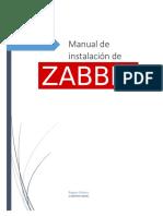 Manual Instalación ZABBIX