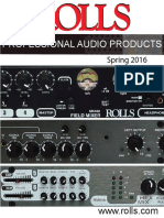 Rolls Audio Catalog