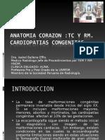 CORAZON TAC Y RM Cardiopatias Congenitas