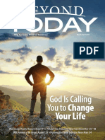 Beyond Today Magazine - March/April 2016