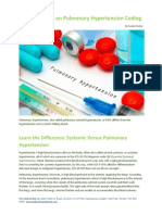 Get the Scoop on Pulmonary Hypertension Coding