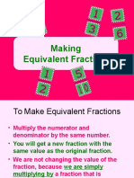 2 equivalent fractions
