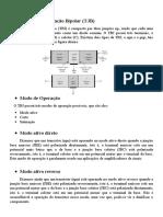 Relatório Eletronica  3bim