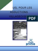Manuel Pour Les Adductions Villageoises