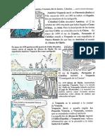 Origen de las denominaciones América, Venezuela, Río de Janeiro, Colombia