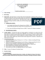 Council Nov. 17 Agenda