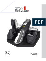 REMINGTON PG6050 instruction manual