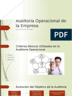 Auditoria de Ciclo Operativo de La Empresa