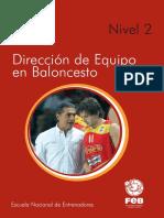 Direccion de Baloncesto N2
