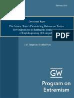 The Islamic State's Diminishing Returns on Twitter