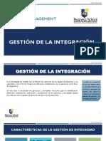 2. Gestión de La Integración