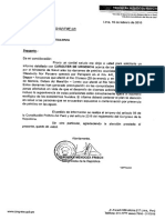 MENDOZA EXIGE ACCIONES ANTE DERRAME DE PETRÓLEO EN AMAZONÍA