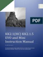 KK2.1.X Instruction Manual V1.19S1 Pro
