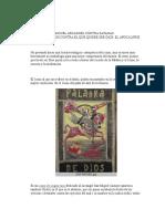 Icono de San Miguel Arcangel Contra Satanas