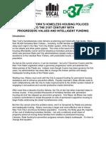 NY Needs a 21st Century Homeless Plan