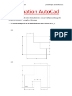 Formation AutoCad partie n° 1