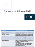 Danzarines