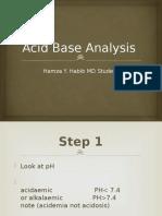 Acid Base Analysis