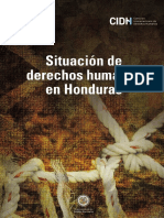 Situación Derechos Humanos Honduras 2016