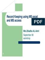 Record Keeping PDF