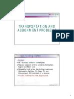 OD Transport Assignment 2010