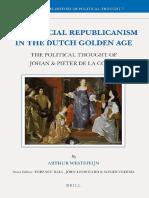 Commercial Republicanism Dutch Golden Age