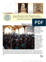 JSOT Inc. April 2010 Community Newsletter