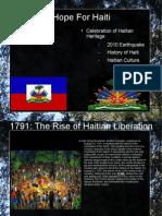 Hope for Haiti Slide Show