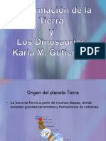 Presentación Sobre Dinosaurios Para El Estudiante