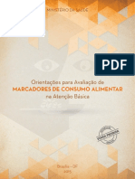 Brasil, 2015 - Orientacoes Para Avaliacao de Marcadores de Consumo Alimentar Na Atencao Basica