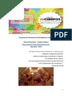 Programa Formación de Facilitadores Lúdicos 2016