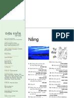 Tạp chí văn hiến số 5 năm 2006