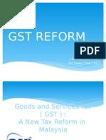 Gst Reform